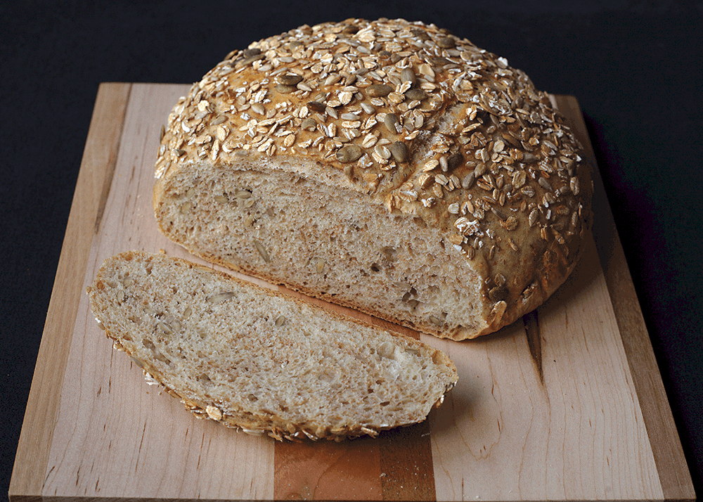 Simple Crusty Bread with Extras