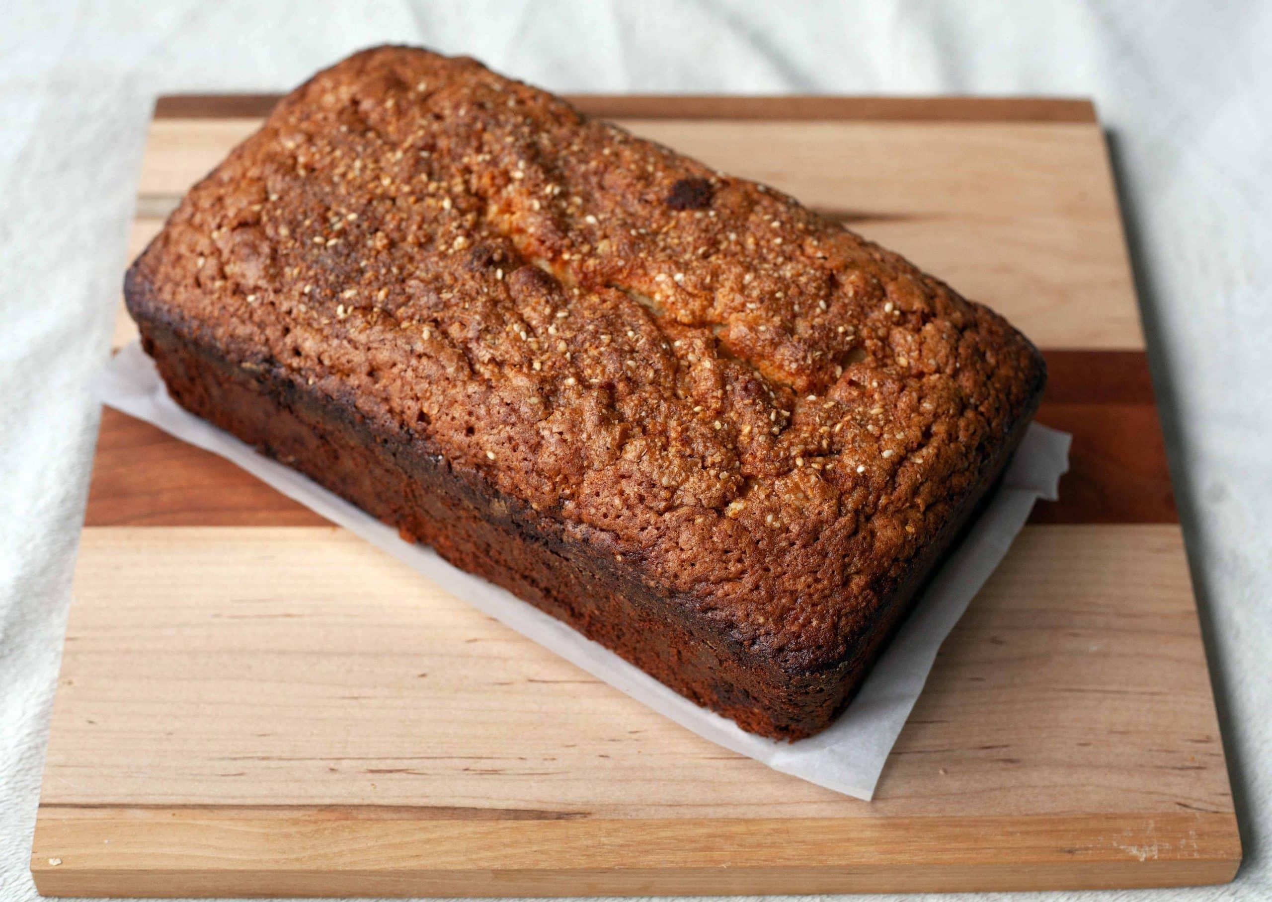 Sesame Pound Cake