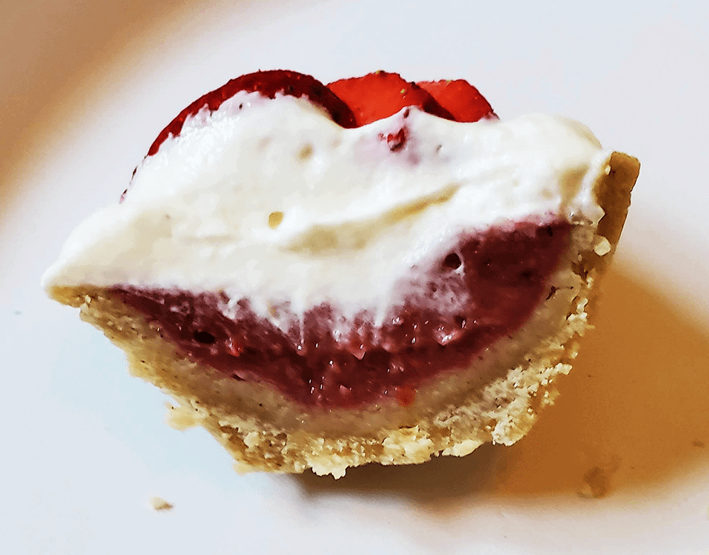Strawbery Rhubarb Tartlets