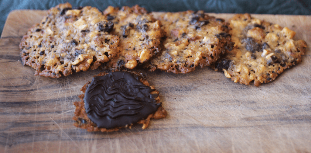 Florentines for the Great British Bake Off week one bake-along challenge.